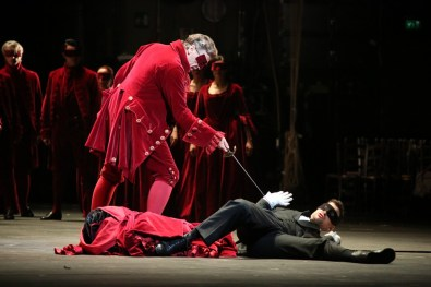 Don Giovanni Thomas Hampson and Luca Pisaroni, photo by Brescia Amisano – Teatro alla Scala